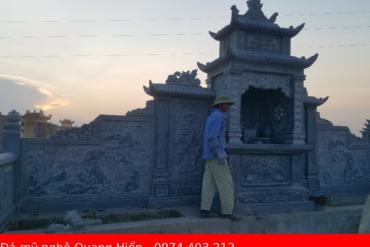 Sản xuất lắp đặt lăng mộ đá chuyên nghiệp trên cả nước