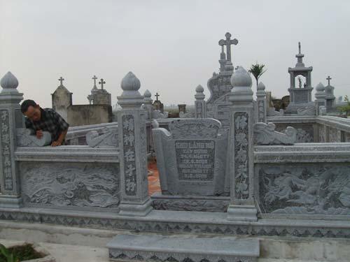 Ý nghĩa mộ đá công giáo - chế tác xây dựng lăng mộ đá